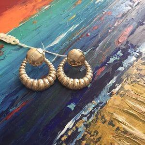 Earrings. Hoops